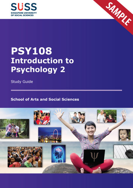 Introduction to Psychology 2, Singapore University of Social Sciences, Pearson