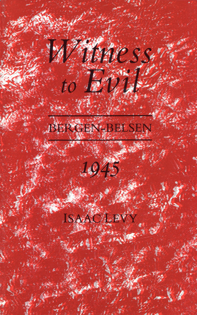 Witness to Evil, Isaac Levy