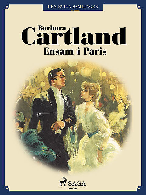 Ensam i Paris, Barbara Cartland