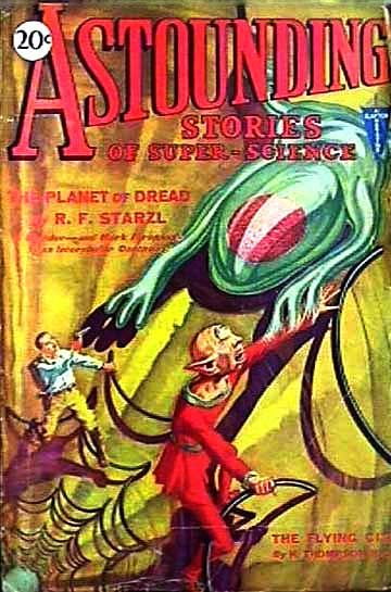 Astounding Stories of Super-Science, August 1930, Various