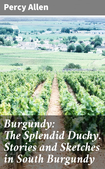 Burgundy: The Splendid Duchy. Stories and Sketches in South Burgundy, Percy Allen