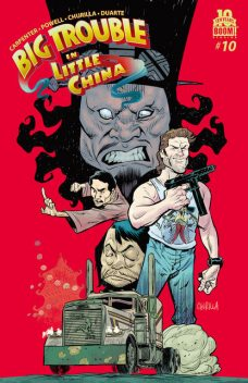 Big Trouble in Little China #10, Eric Powell