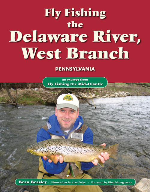 Fly Fishing the Delaware River, West Branch, Pennsylvania, Beau Beasley