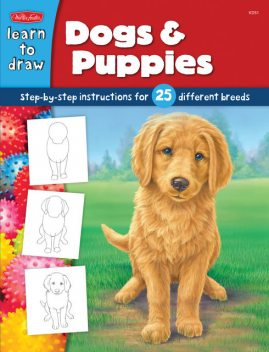 How to Draw Dogs & Puppies, Diana Fisher
