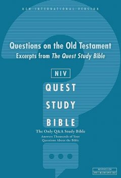 Q and A on the Old Testament: A Zondervan Bible Extract, eBook, Zondervan