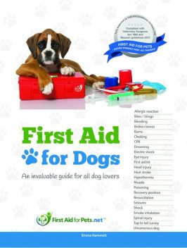 First Aid for Dogs, Emma A Hammett