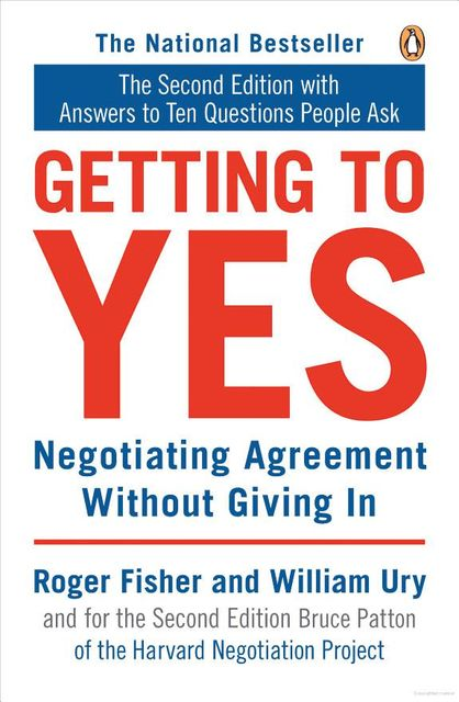 Getting to Yes, ROGER FISHER
