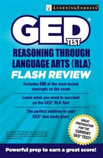 GED Test RLA Flash Review, LearningExpress LLC