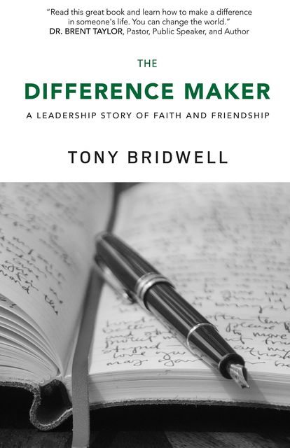 The Difference Maker, Tony Bridwell