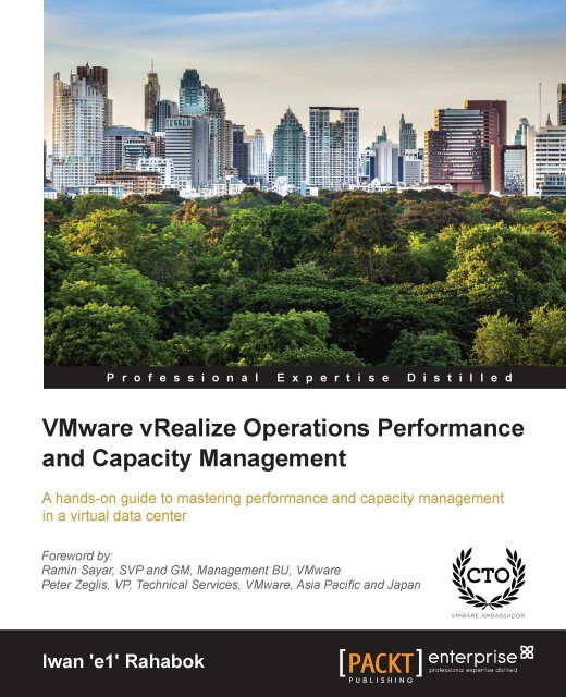 VMware vRealize Operations Performance and Capacity Management,