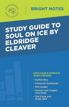Study Guide to Soul on Ice by Eldridge Cleaver, Intelligent Education