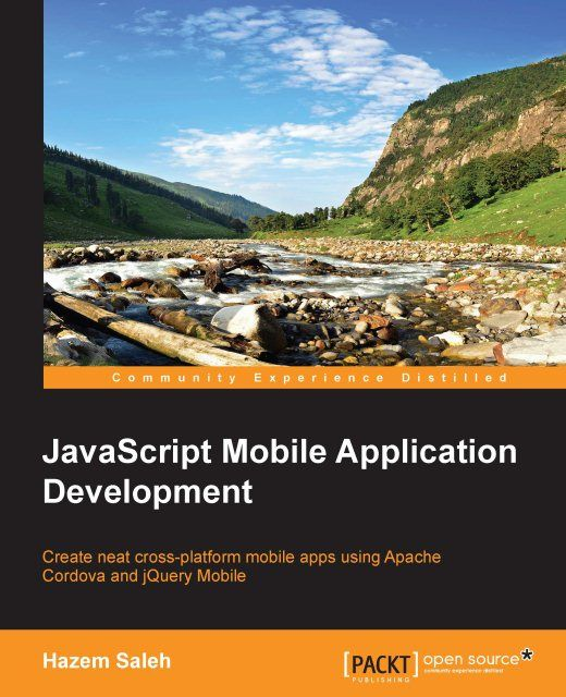 JavaScript Mobile Application Development, Hazem Saleh