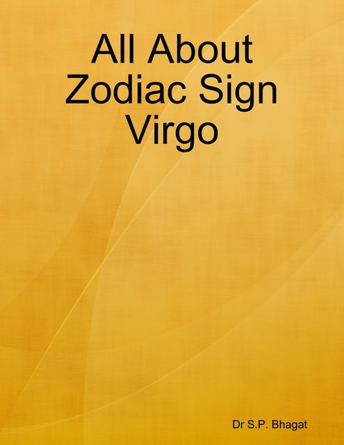 All About Zodiac Sign Virgo, S.P. Bhagat