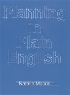 Planning in Plain English, Natalie Macris