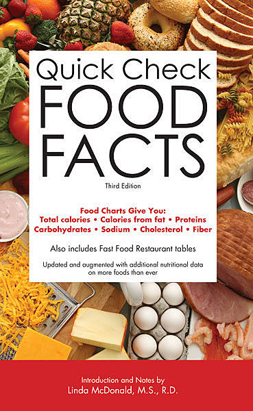 Quick Check Food Facts, B.E. S. Editorial Staff
