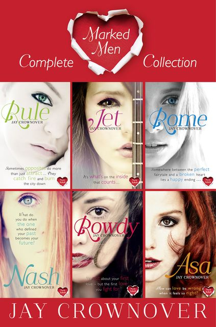 The Marked Men Series Books 1–6, Jay Crownover