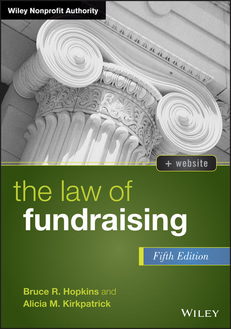 The Law of Fundraising, Bruce R.Hopkins