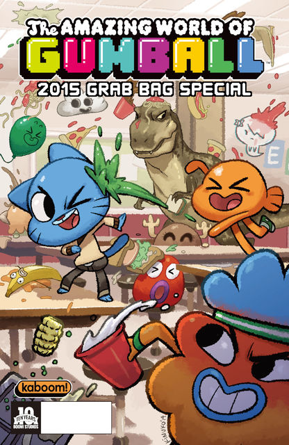 The Amazing World of Gumball 2015 Grab Bag #1, Yehudi Mercado, Nneka Myers, Cohen Edenfield, Fellipe Martina, Fernanda Jaber, Philip Murphy, Zack Giallongo