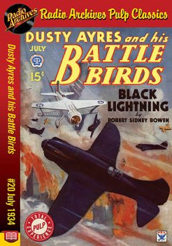 Dusty Ayres and his Battle Birds #20 Jul, Richard Foster