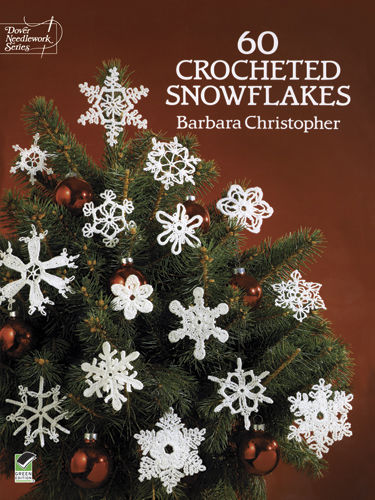 60 Crocheted Snowflakes, Barbara Christopher