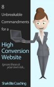 8 Unbreakable Commandments For a High Conversion Website, Shark Bite Coaching