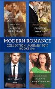 Modern Romance January Books 5–8, Natalie Anderson, Heidi Rice, Bella Frances, Amanda Cinelli