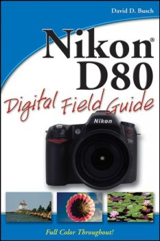 Nikon D80 Digital Field Guide, David Busch