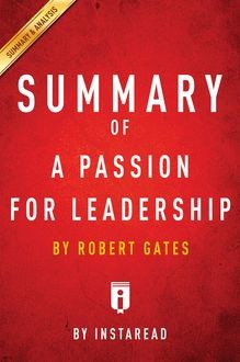 Summary of A Passion for Leadership, Instaread