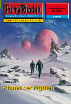 Perry Rhodan 2204: Planet der Mythen, Claudia Kern