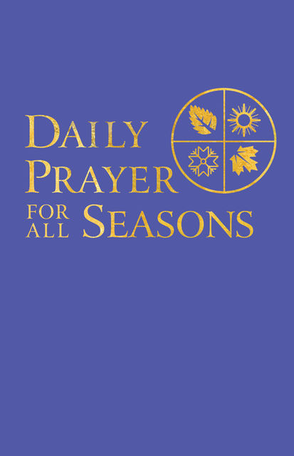 Daily Prayer for All Seasons, John Pritchard