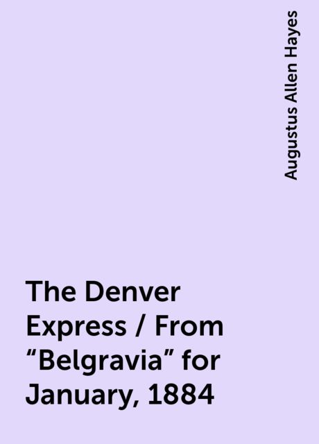 The Denver Express / From