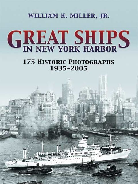 Great Ships in New York Harbor, William Miller