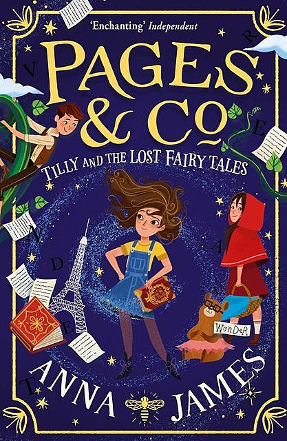 Pages & Co.: Tilly and the Lost Fairy Tales, Anna James