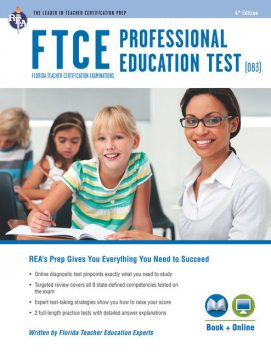 FTCE Professional Ed (083) Book + Online, Chris Rose, Erin Mander, Tammy Powell