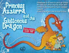 Princess Azzurra and the Gluttonous Dragon (illustrated children book for ages 2–6), Elisa Favi