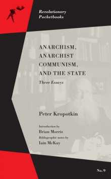 Anarchism, Anarchist Communism, and The State, Peter Kropotkin