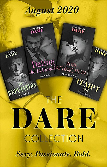 The Dare Collection August 2020, Lisa Childs, Caitlin Crews, Rebecca Hunter, JC Harroway