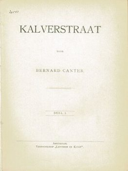 Kalverstraat, Bernard Canter