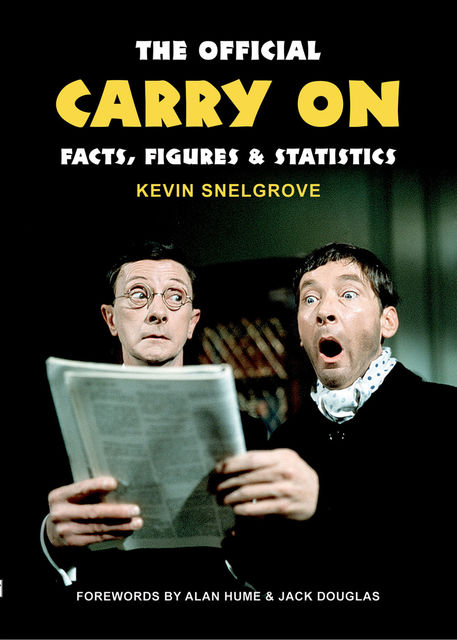 Official Carry On Facts, Figures & Statistics, Kevin Snelgrove