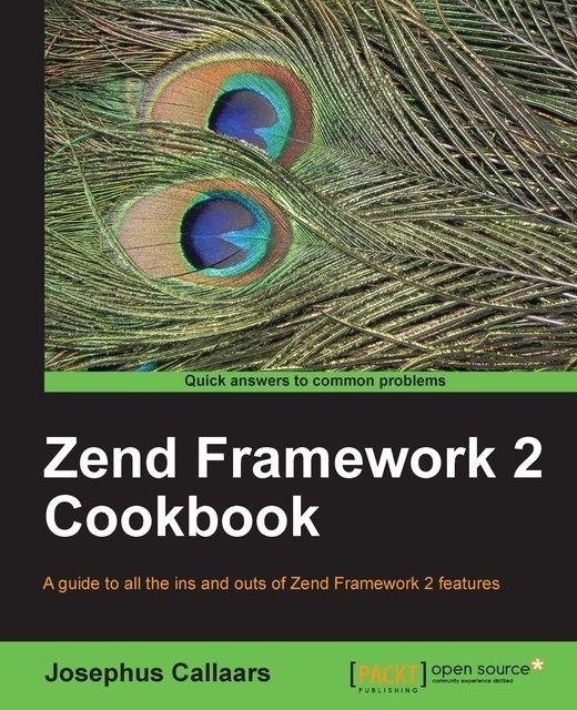 Zend Framework 2 Cookbook,