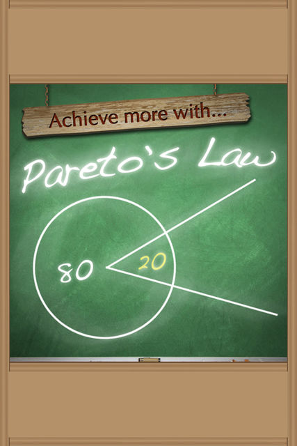 Achieve More With Pareto's Law, Sobaca
