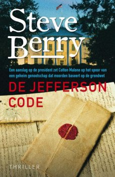 De Jefferson code, Steve Berry
