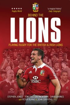 Behind the Lions, Stephen Jones, Nick Cain, David Barnes, Tom English