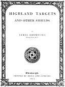 Highland Targets and Other Shields, James Drummond