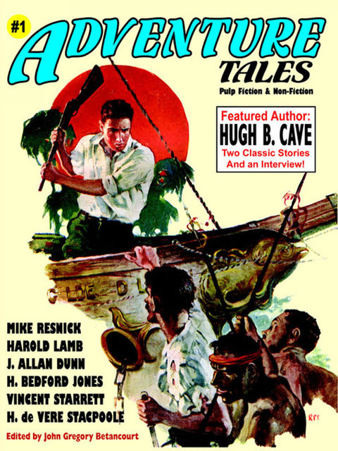 Adventure Tales #1, Hugh B.Cave