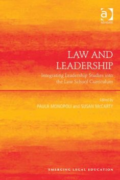 Law and Leadership, Paula Monopoli