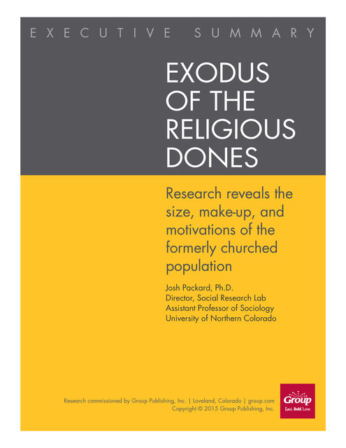 Exodus of the Religious Dones, Josh Packard