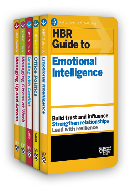 HBR Guides to Emotional Intelligence at Work Collection (5 Books) (HBR Guide Series), Harvard Business Review, Karen Dillon, Amy Gallo