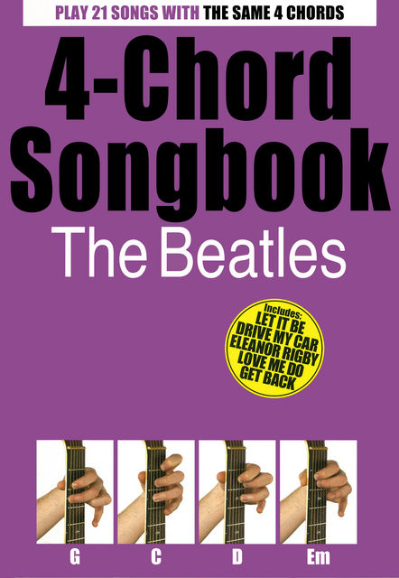 4-Chord Songbook The Beatles, Wise Publications