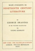 Main Currents in Nineteenth Century Literature – 6. Young Germany, Georg Brandes